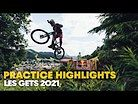 This is a REAL Downhill track | Eliot Jackson Practice Break Down in Les Gets