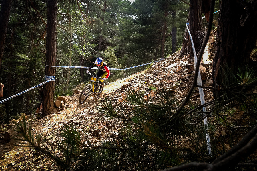 Rachel Goes 3 for 3 - general lee - Mountain Biking Pictures - Vital MTB