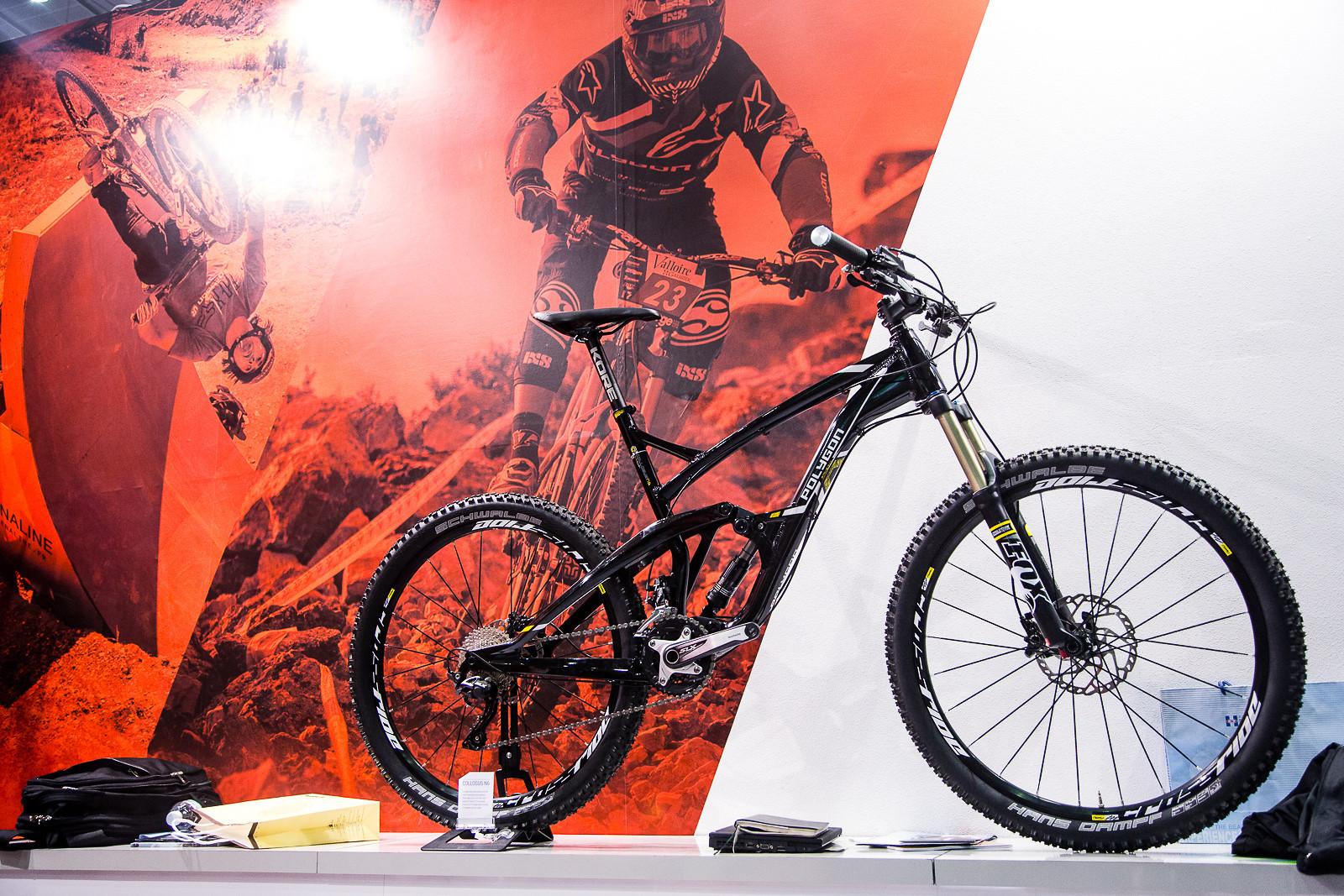Alloy Polygon Collosus N8 - LTrumpore - Mountain Biking Pictures - Vital MTB