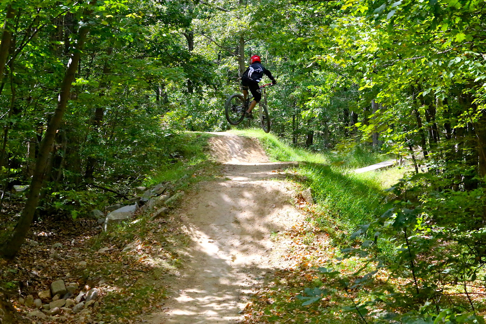 Upper Dominion Whip - Austen_Paris - Mountain Biking Pictures - Vital MTB