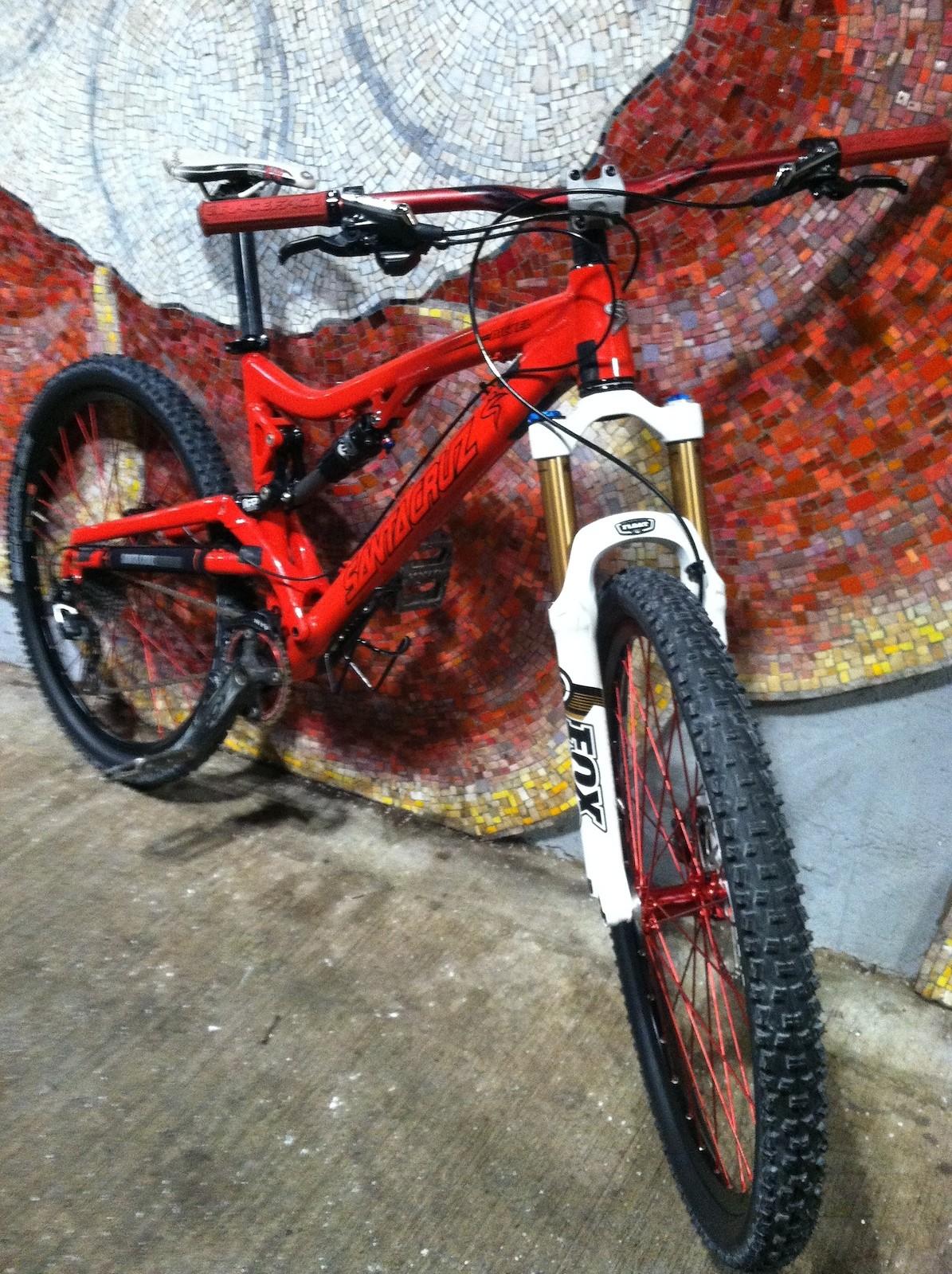 Red hot Santa Cruz Nickel