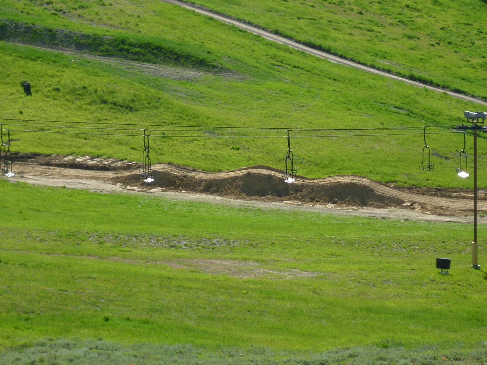 Finish Straight Triple Jump - solvista bike park - Mountain Biking Pictures - Vital MTB