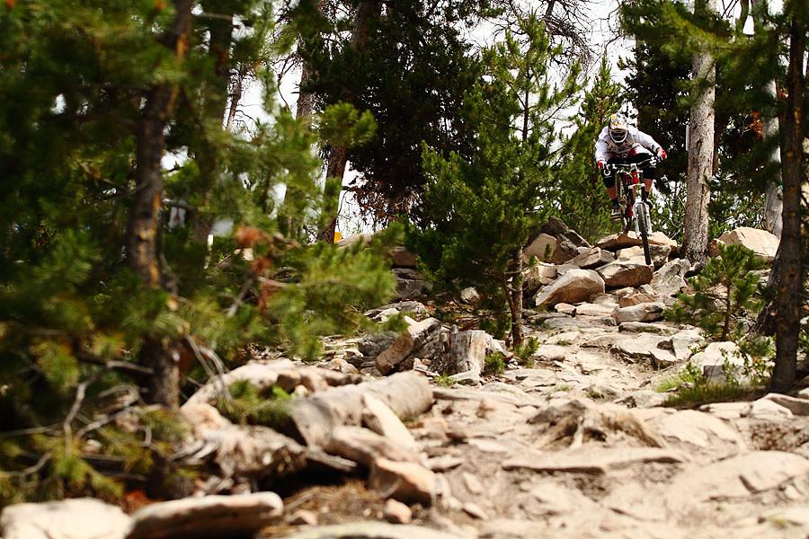 Steve Peat on Cheez-It - solvista bike park - Mountain Biking Pictures - Vital MTB