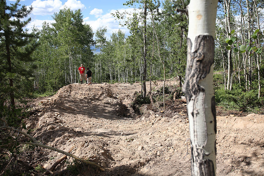 Into the triple thing - solvista bike park - Mountain Biking Pictures - Vital MTB