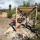 Bridge on Pro DH Track