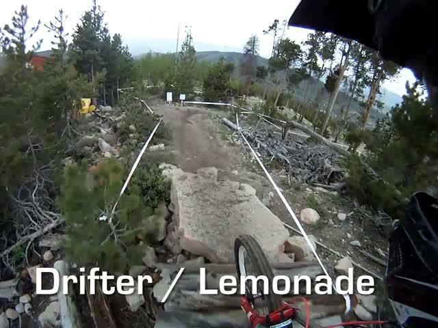 Drifter / Lemonade Helmet Cam Run