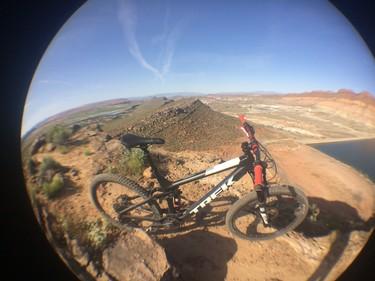 Top of Boy Scout Trails Hurricane Utah