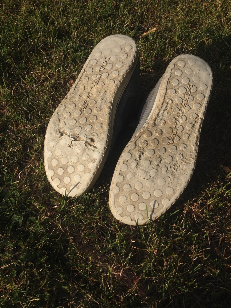 Rubber Sole after 2 years of use.