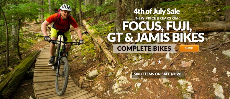 4th of July MTB Bargains - Mountain Bikes Feature Stories
